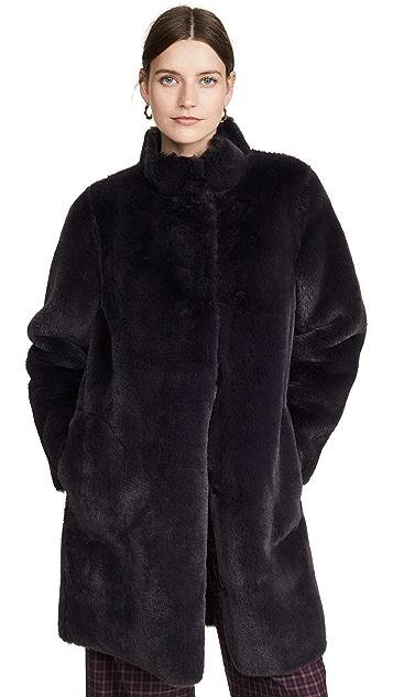 丝绒 Mina 大衣