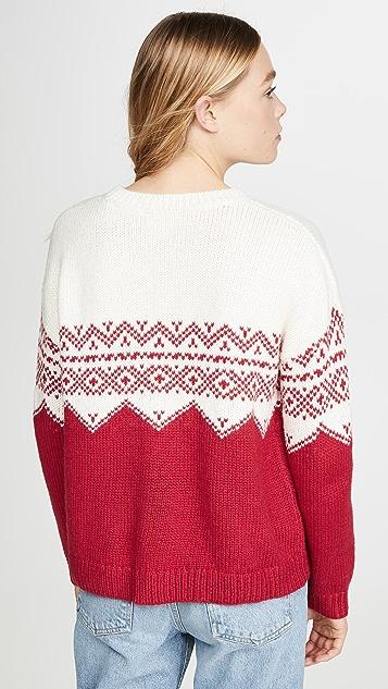 丝绒 Leanna 毛衣