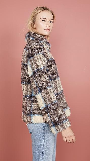 丝绒 Erica 外套