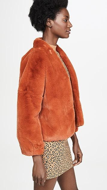 Velvet Anne Faux Fur Jacket
