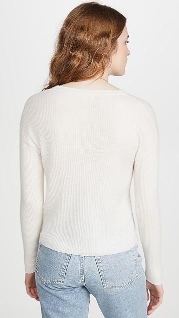丝绒 Stella 开司米羊绒开襟衫
