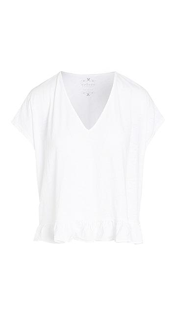丝绒 Almira T 恤