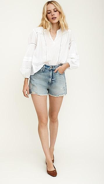 丝绒 Pia 女式衬衫