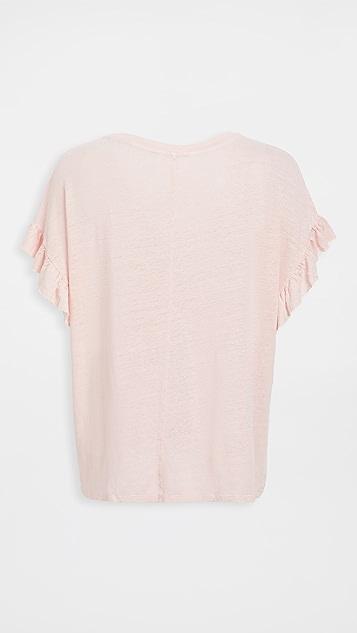 丝绒 Cordelia T 恤