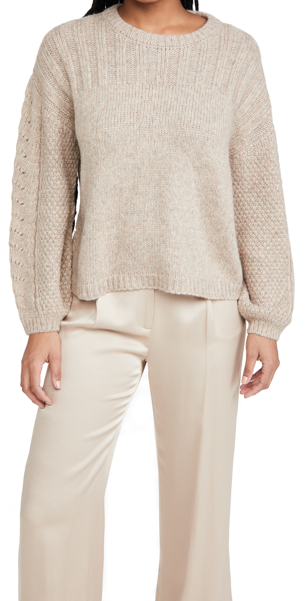 Velvet Maree Crew Neck Alpaca Sweater