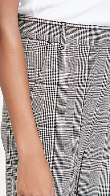 Velvet 格子裤子