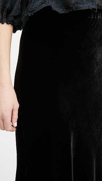 天鹅绒 Taelyn 半身裙