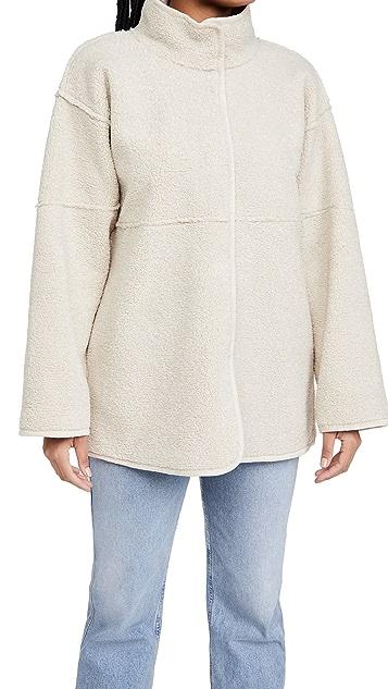 Velvet Albany Sherpa Coat