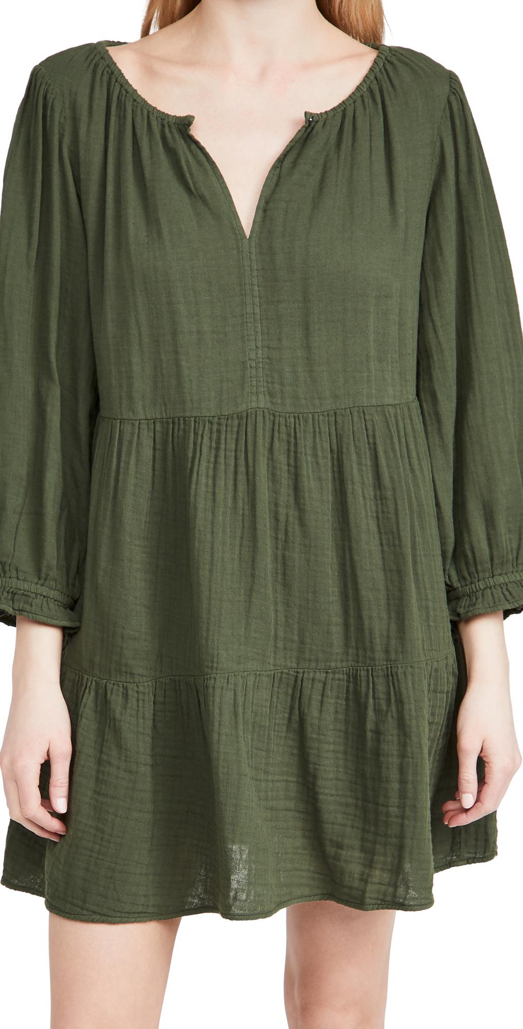 Velvet Gauze Dress