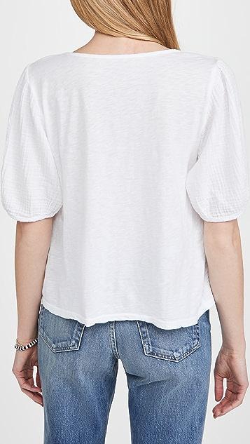 天鹅绒 套头女式衬衫