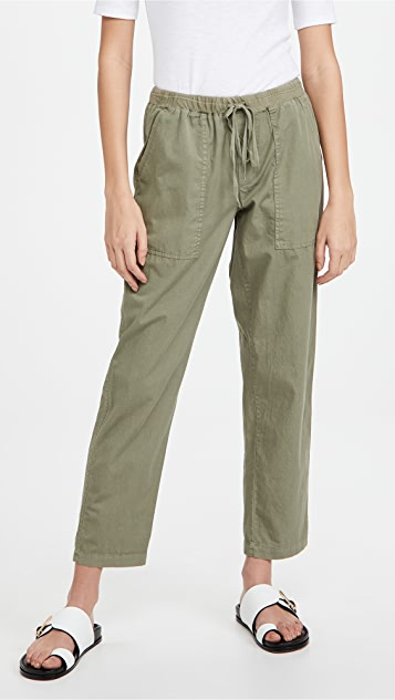 Velvet Misty 斜纹长裤