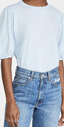 Velvet - Puff Sleeve T-Shirt