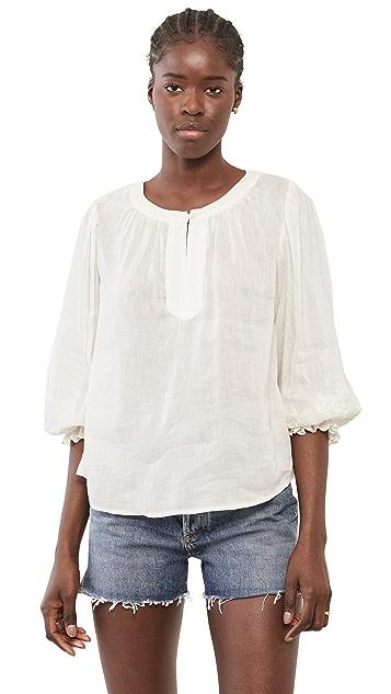 天鹅绒 Larsa 女式衬衫