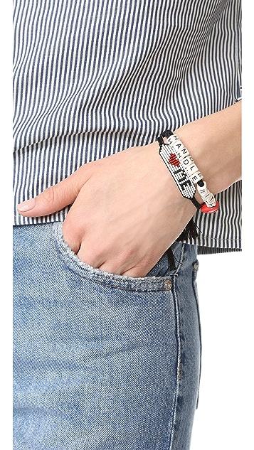 Venessa Arizaga Love Me Bracelet