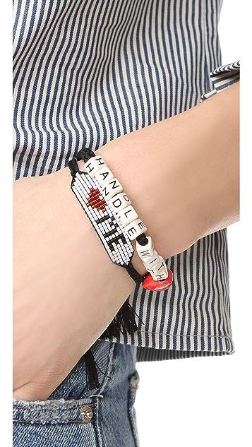 Venessa Arizaga Handle With Love Bracelet