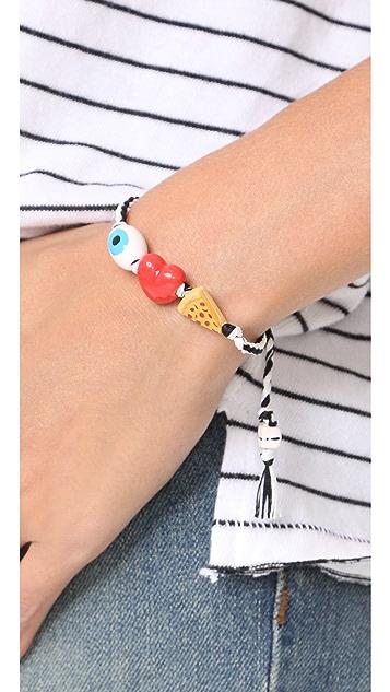 Venessa Arizaga I Love Pizza Bracelet