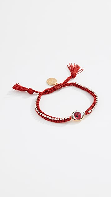 Venessa Arizaga Crystal Eye Bracelet
