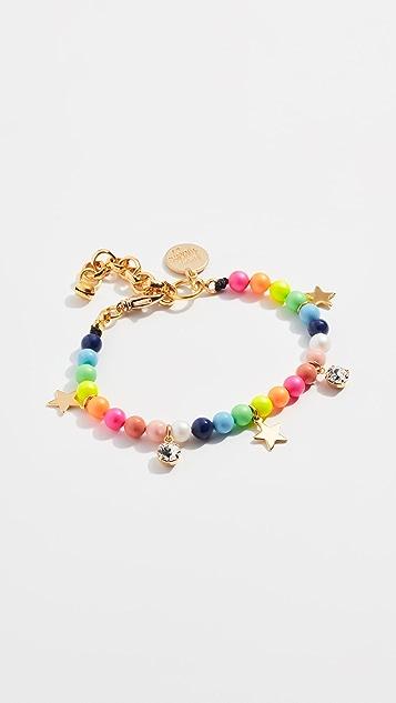 Venessa Arizaga Stars in the Sky Pearl Bracelet