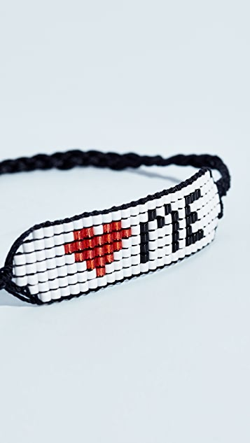 Venessa Arizaga Love Bracelet