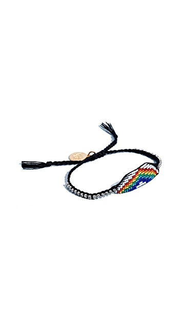 Venessa Arizaga Rainbow Friendship Bracelet