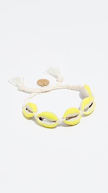 Venessa Arizaga Neon Shell Bracelet