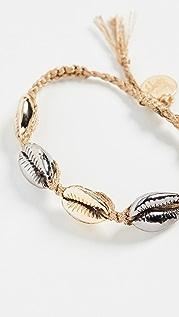 Venessa Arizaga Metallic Shell Bracelet
