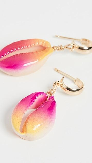 Venessa Arizaga Summer Shells Earrings