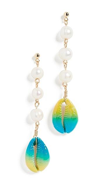 Venessa Arizaga Moonlight Beach Earrings