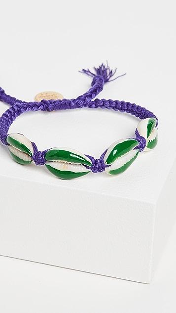 Venessa Arizaga Fantasea 紫色和绿色手链