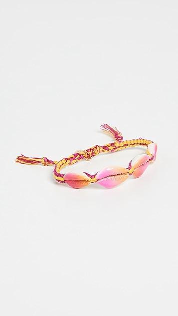 Venessa Arizaga 粉色和黄色 Fantasea 手链