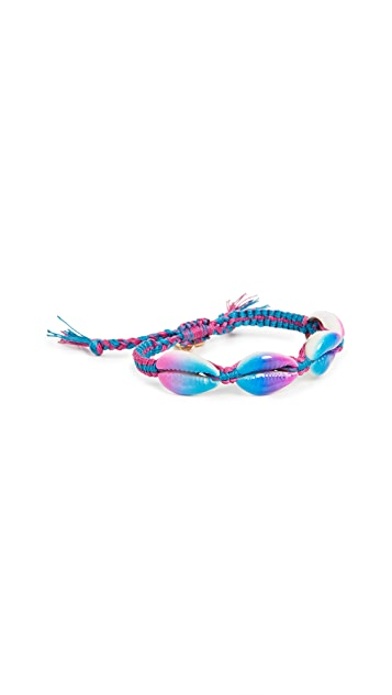 Venessa Arizaga Blue And Purple Fantasea Bracelet