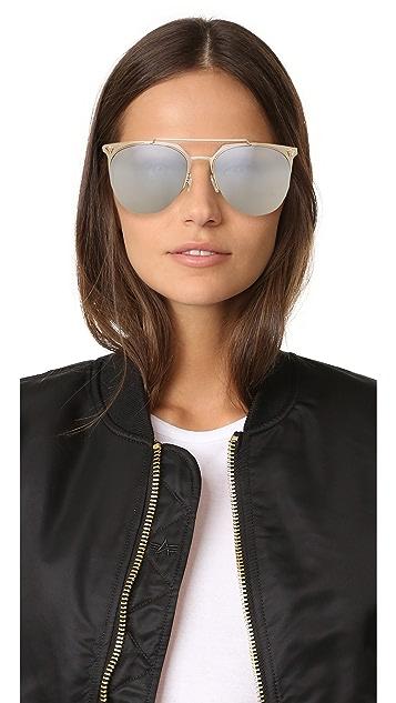 Versace Medusa Aviator Sunglasses