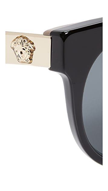 Versace Brow Bar Sunglasses