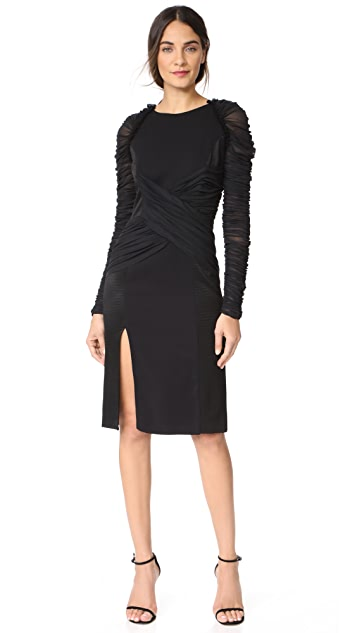 Versace Stretch Tulle Dress