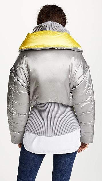 Versace Convertible Bomber Jacket