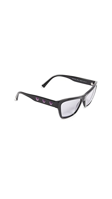 Versace Rock Square Sunglasses