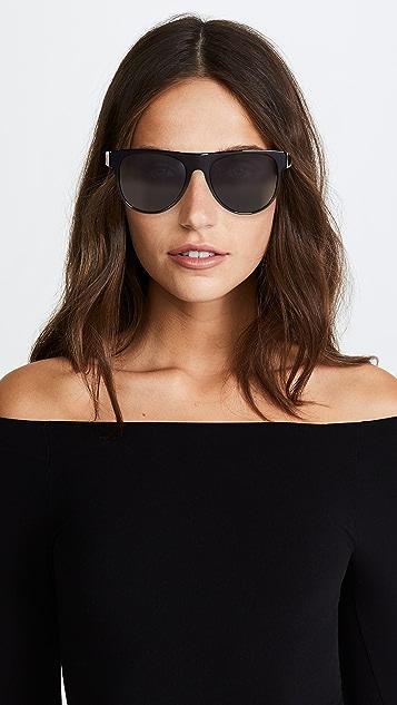 Versace Rock Icon Flat Lens Sunglasses