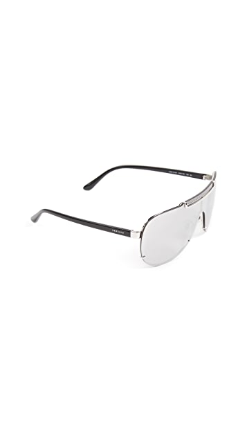 Versace Greca Shield Sunglasses