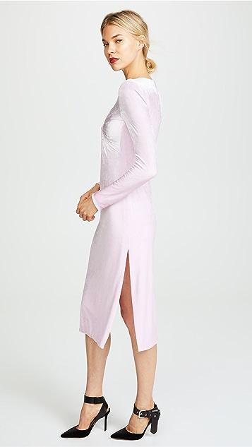 Versace Twist Front Dress
