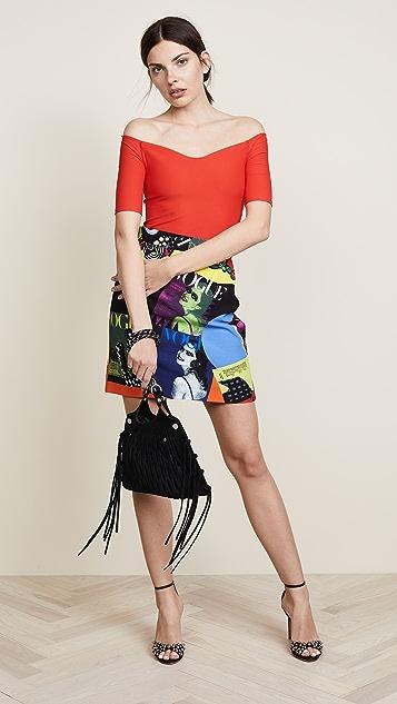 Versace Vogue Miniskirt