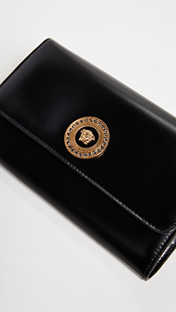 Versace Wallet on a Chain Cross Body Bag