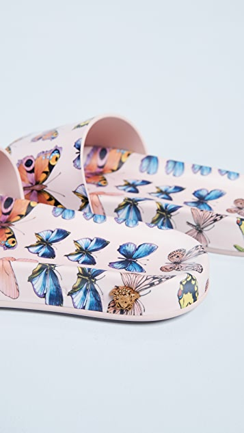 Versace Butterfly Slides