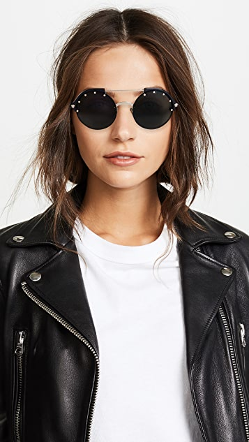 Versace VE4337 Round Aviator Sunglasses