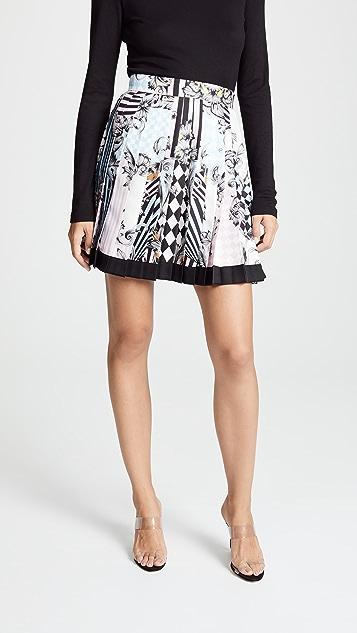 Versace Print Miniskirt
