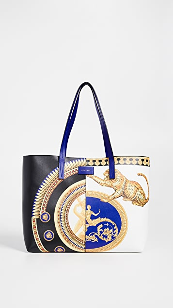 Versace Leather Tote Bag   SHOPBOP 5f61047619
