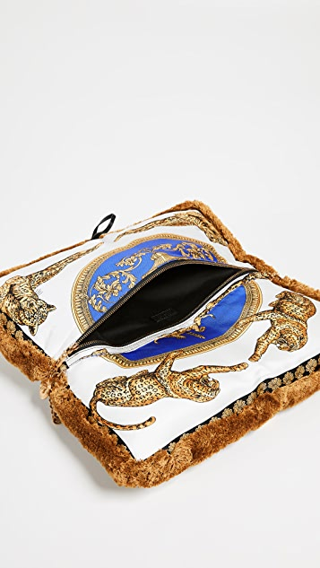 Versace Linea Evening Shoulder Bag