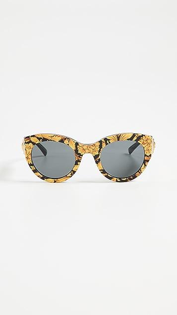 Versace Bold Frame Sunglasses