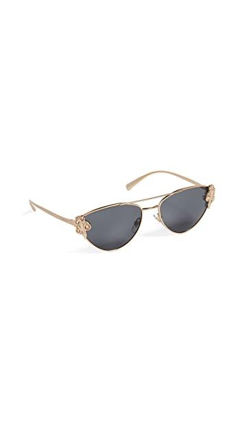 Versace VE2195B Aviator Sunglasses