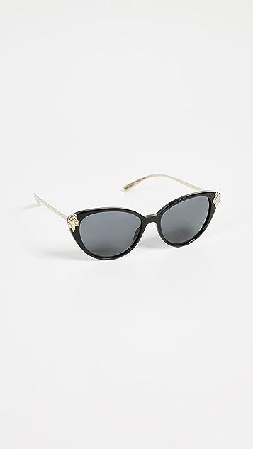 Versace VE4351B Солнцезащитные очки «кошачий глаз»