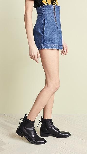Versace Denim Shorts